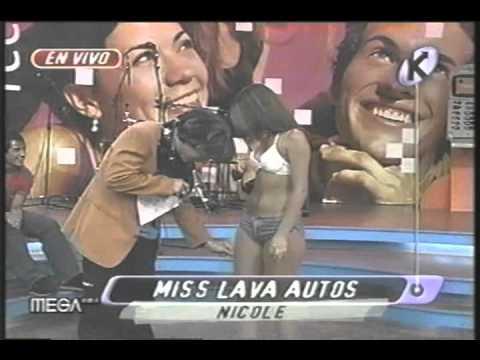Mekano Nicole Perez - Miss Lava Autos - Pies medias