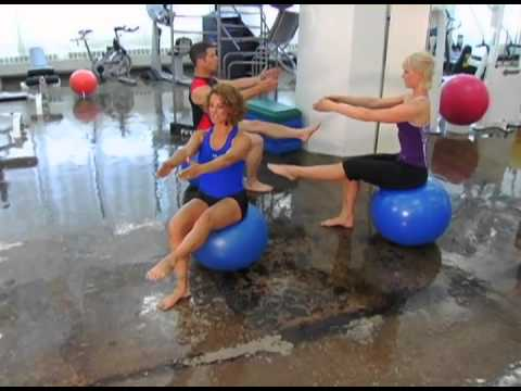 Lawson Harris: Pilates Warm-Up on the physio ball