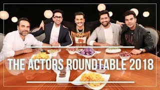 The Actors Roundtable 2018 With Rajeev Masand | Bollywood Roundtable Exclusive