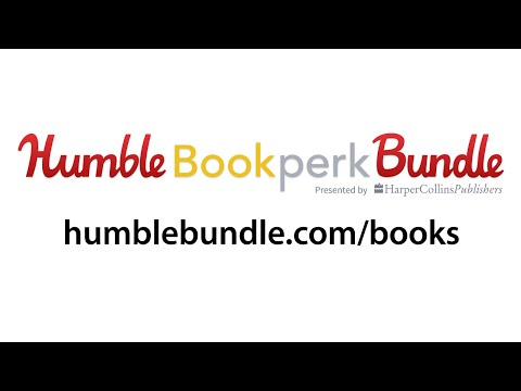 Humble Bookperk Bundle Presented by HarperCollins Publishers