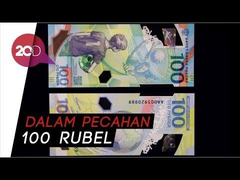 Wow! Uang Baru Rusia Bertema Piala Dunia