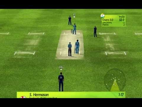 Brian Lara international Cricket 2007( PC Gameplay ) - India Vs England Part - 1