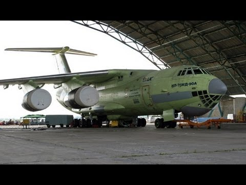 Как строят самолеты Ил-476