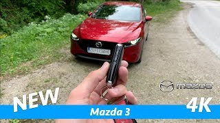 Mazda 3 2019 - FIRST FULL in-depth review in 4K | Skyactiv-G122 Plus, full package interior-exterior