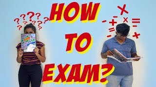 HOW TO EXAMS? | TYPES OF PEOPLE DURING EXAMS ||