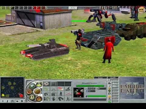 empire earth 2 (muestra de unidades)