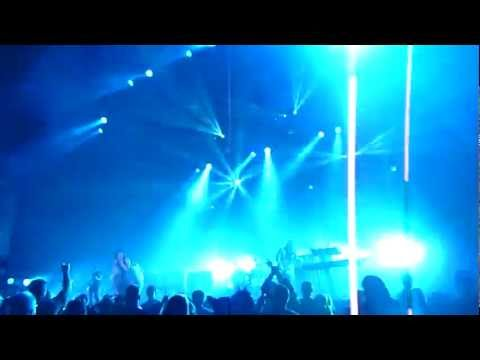 Evanescence - Disappear HD (One Of First Times Played) Carnival Of Madness, Atlanta 8/10/12