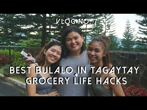 TAGAYTAY ROADTRIP (Best Bulalo + Grocery Life Hacks) | Michelle Cruz