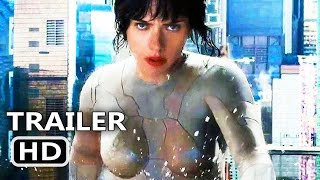 "GHOST IN THE SHELL ""Water Fight"" Clip (2017) Scarlett Johansson Sci-Fi Movie HD"