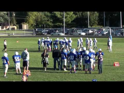 2014 Genoa Jaguars 7th Grade Football vs Walnut Springs