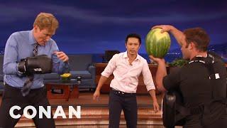 Steven Ho Takes Conan Back To Basics  - CONAN on TBS