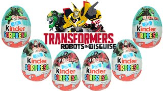 Huevos Kinder de Transformers Robots in Disguise | JuguetesYSorpresas