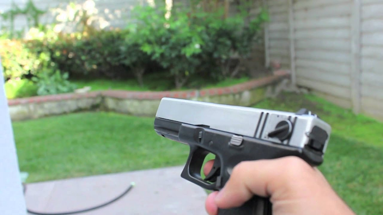 Airsoft KWA Glock 18c (full auto) - YouTube