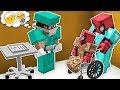 Fakir Örümcek Adam Yaralandı - Minecraft Zengin vs Fakir Örümcek Adam
