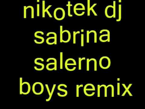 Nikotekdj - Sabrina Salerno - Boys Remix ( Angelo Nero Mix ) video