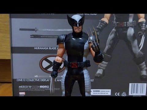 Mezco one:12 x-force Wolverine action figure review
