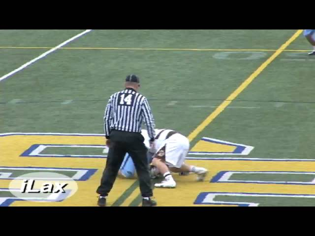 Best FaceOff Player in College Lacrosse UNC Faceoff video