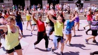National Dance Day 2013 Boston Collaboration - Hip Hop - Live it Up (Jennifer Lopez), Banji