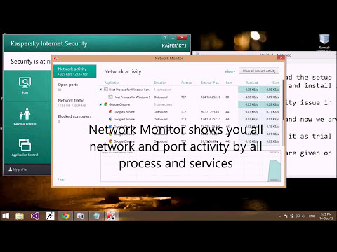 Kaspersky Internet Security 2014 in windows 8.1