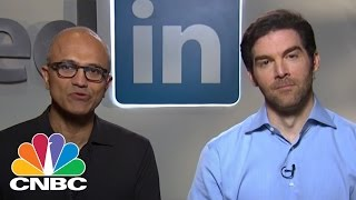 Microsoft And LinkedIn CEOs On Their $26.2B Deal | CNBC