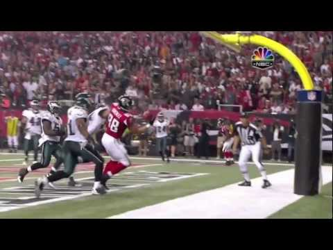 Tony Gonzalez One-Handed TD Catch vs Philadelphia Eagles (9/18/11) [HD]