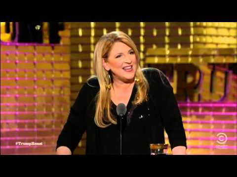 Lisa Lampanelli roasts Donald Trump