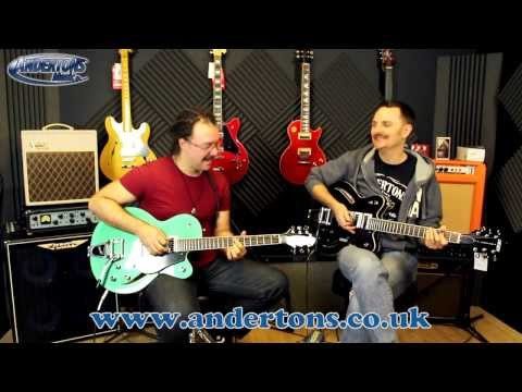 Gretsch Electromatic Centre Block Guitars - Damn Tasty Axes!