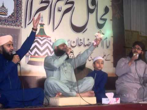Lamyaati Nazeero Kafi  By Owais Raza Qadri Mehfil-e-Naat Shab-e-Ashoora 14-11-2013