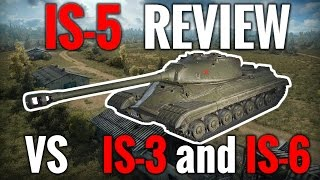 World of Tanks || IS-5 - Review vs IS-3 and IS-6