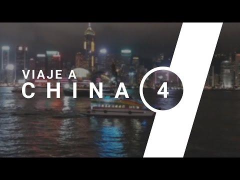 Vlog de viaje a China (Parte 4) | Escaleras, show de luces y autos locos