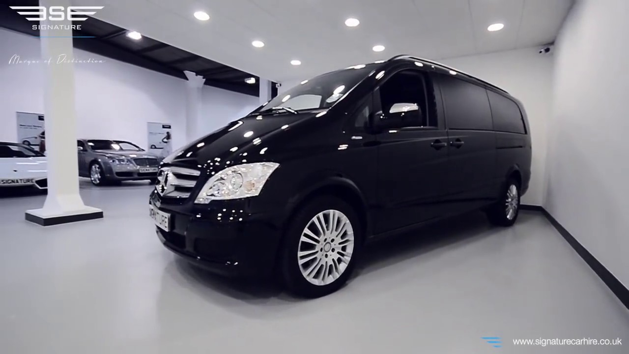 Mercedes Viano 8 Seater Extra Long Wheel Base In Depth