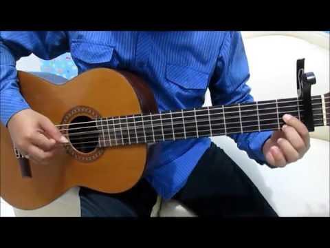 Belajar Kunci Gitar Anji Dia Intro