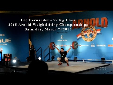 media the arnold weightlifting championships