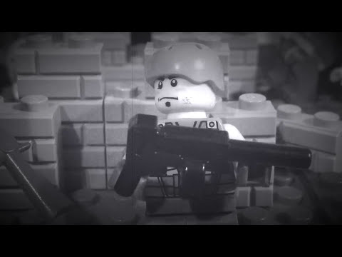Lego Remembrance Day Tribute 2014