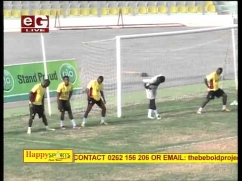 Sports | Black Stars of Ghana training session