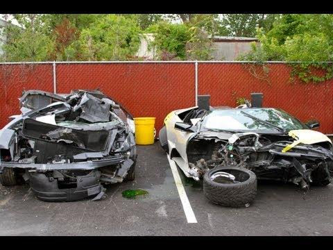 Lamborghini Crashes over 150 MPH!!!