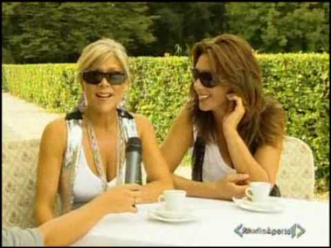 Samantha Fox & Sabrina Salerno Duet - Interview Italian Tv video