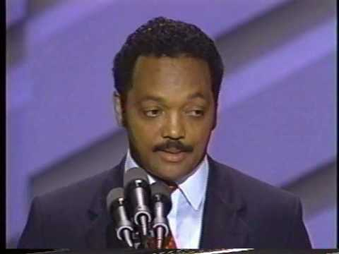 Jesse Jackson Speech to 1988 Convention Pt 7