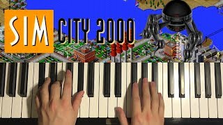How To Play - Sim City 2000 - Theme Song (PIANO TUTORIAL LESSON)