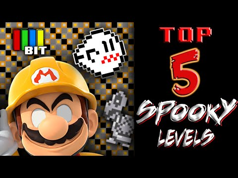 Creepy and Scary Mario Maker Levels -TOP 5- (2016)