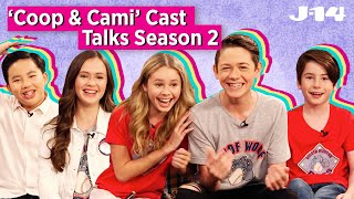 Coop & Cami Ask the World Cast on Season 2, Funny Moments, and More!