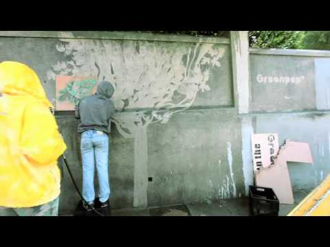Greenpop reverse graffiti forest.mp4