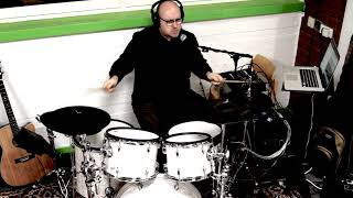 John Lennon - Watching The Wheels - Drum Cover - Live Singing