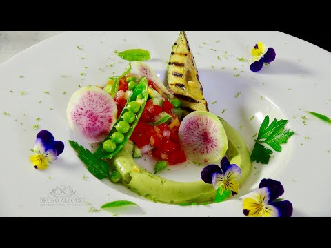 Deconstructed Salsa Salad & Avocado 2 Ways – Bruno Albouze – THE REAL DEAL