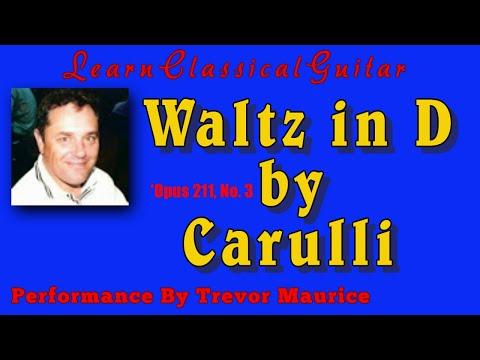 Фердинандо Карулли - Waltz No 3 Opus 211