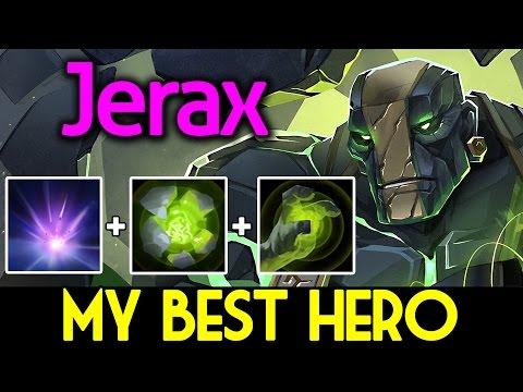 Jerax DOTA 2 [Earth Spirit] My Best Hero