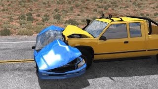 Side Impact Crash Testing 3 | BeamNG.drive