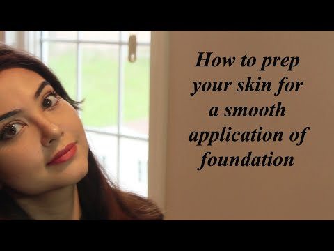 Watching video #How to apply flawless foundation!!