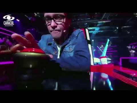 Mateo cantó 'Una canción' de Los de adentro LVK Colombia Audiciones a ciegas T1
