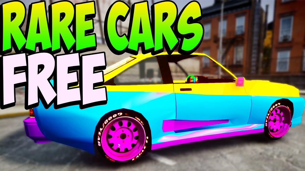 Gta 5 Online Rare Cars Free Location 1 20 1 22 Secret